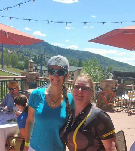Me and Sonya Looney, Epic Cyclist - Epic Ride